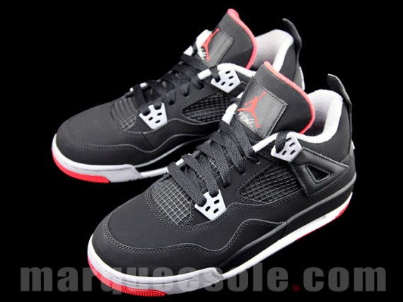 Air Jordan IV GS: Bred 2012 Retro