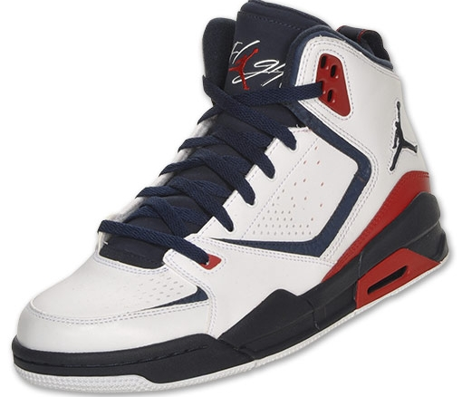 Jordan SC 2: White   Obsidian   Gym Red