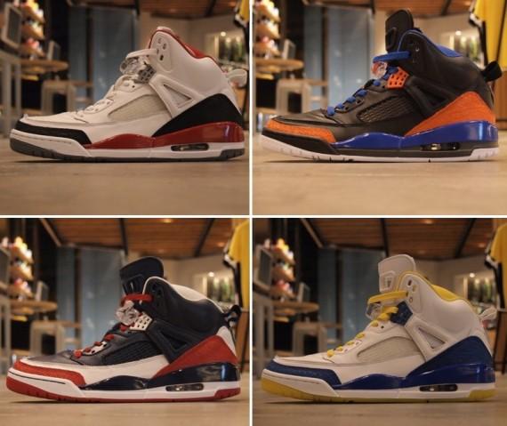Jordan Spizike iD: Samples @ Nike Harajuku