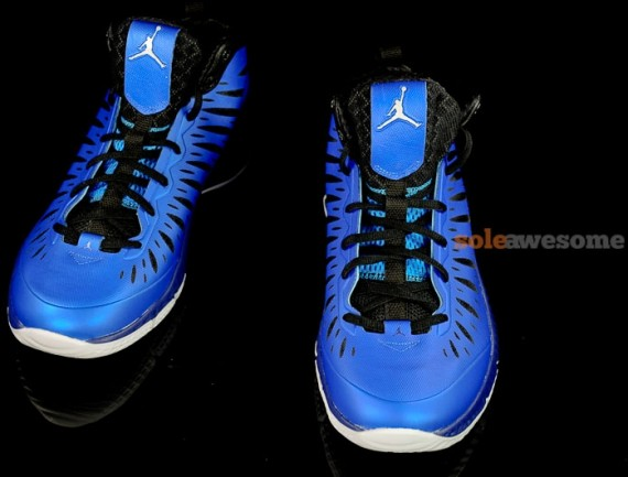 Jordan Super Fly: Old Royal   Black   White