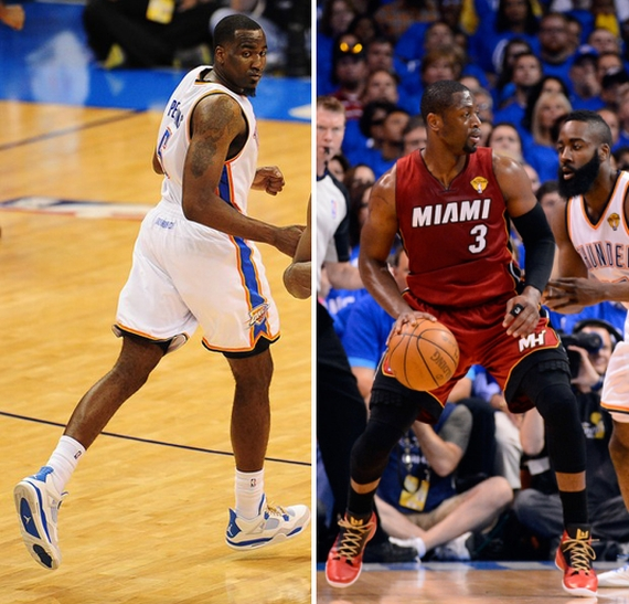 NBA Jordans On Court: 2012 NBA Finals Game 1