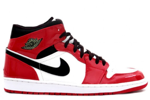 The Daily Jordan: Air Jordan 1   White   Varsity Red   Patent Leather   2003