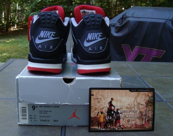 The Daily Jordan: Air Jordan IV Bred   1999