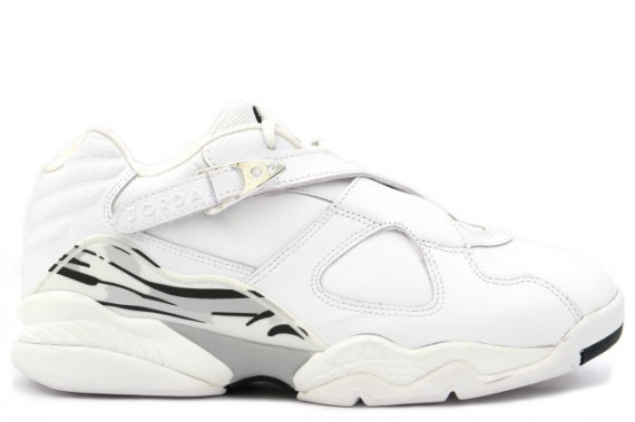 The Daily Jordan: Air Jordan VIII Low   White   Chrome   2003