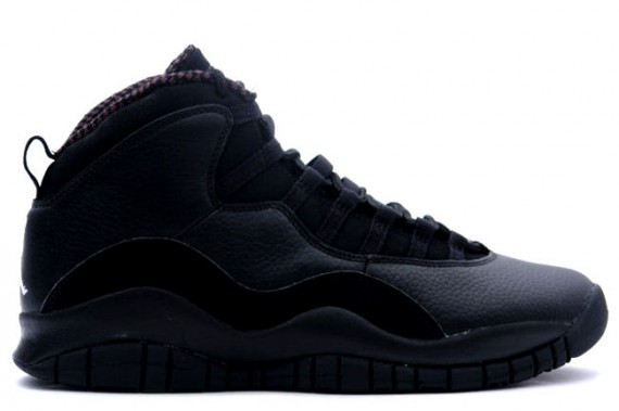 The Daily Jordan: Air Jordan X   Black   White   2005