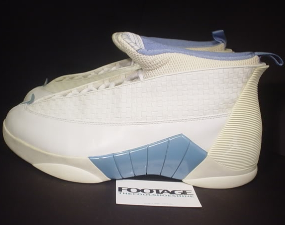 The Daily Jordan: Air Jordan XV   White   Columbia Blue   2000