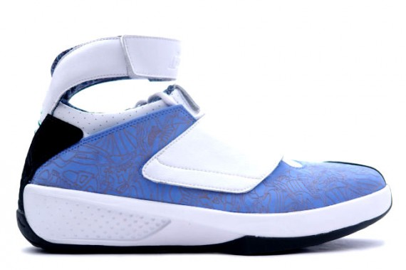 The Daily Jordan: Air Jordan XX   University Blue   White   2005