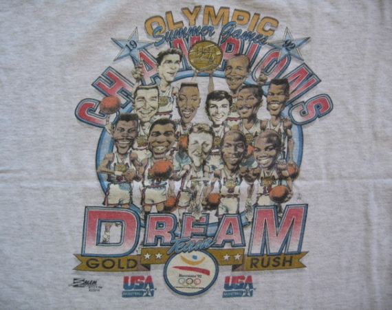 Vintage Gear: 1992 Barcelona Dream Team T Shirt