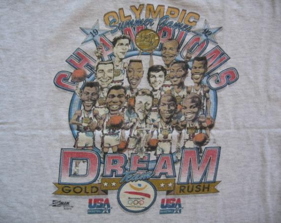 Vintage Gear: 1992 Barcelona Dream Team T Shirt