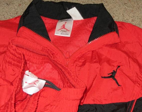 Air Jordan Rouge Sweatsuit Vol