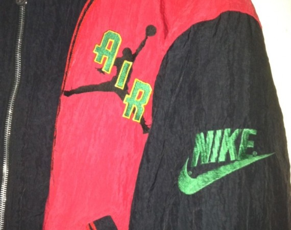 Vintage Gear: Air Jordan Satin Letterman Jacket
