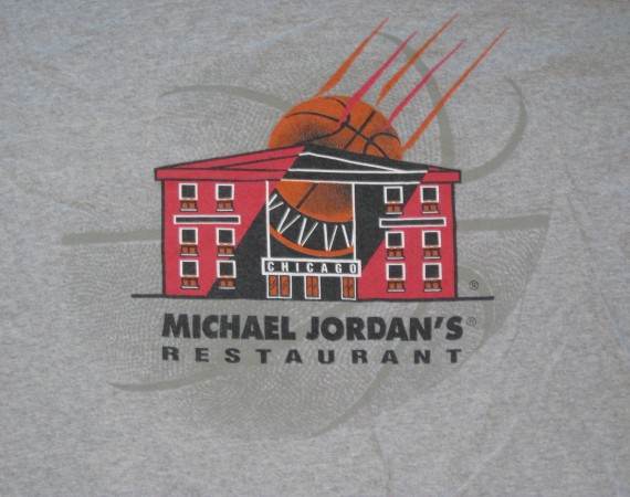 Vintage Gear: Nike Michael Jordans Restaurant T Shirt