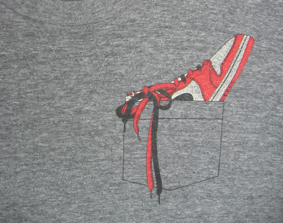 Vintage Gear: Air Jordan 1 Retro Pocket Tee
