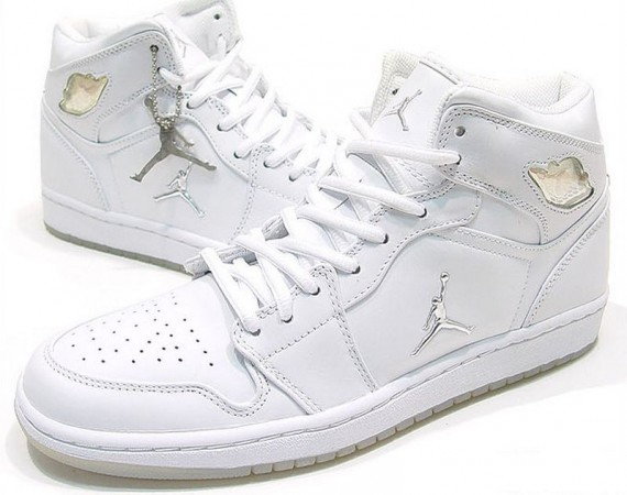 The Daily Jordan: Air Jordan 1   White   Metallic Silver   2002