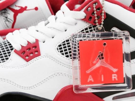 Air Jordan IV: White – Varsity Red – Black | Arriving in Stores