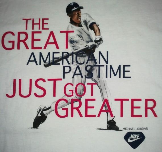 Vintage Gear: Air Jordan Babe Ruth T-Shirt