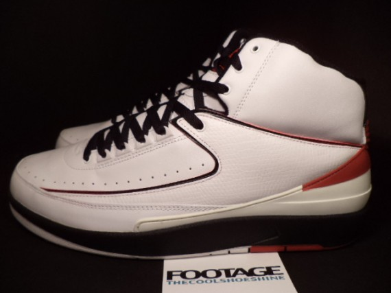 The Daily Jordan: Air Jordan II   White   Varsity Red   Black   2004
