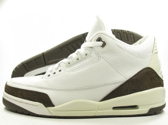 The Daily Jordan: Air Jordan III Mocha   2001