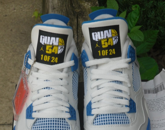 Air Jordan IV: Military Quai 54   Available on eBay