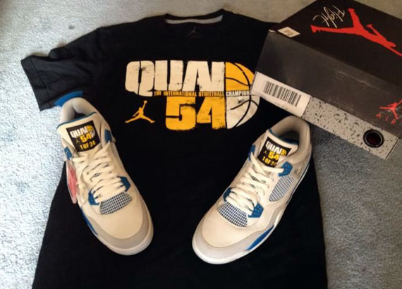 Air Jordan IV: Military Quai 54 Edition
