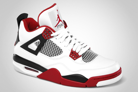 Air Jordan IV – White – Varsity Red – Black | Release Date