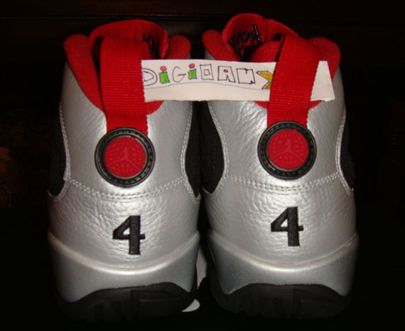 Air Jordan IX: Johnny Kilroy   Available on eBay