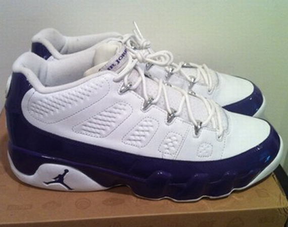 Air Jordan IX Low: Mike Bibby Sacramento Kings 'Home' PE