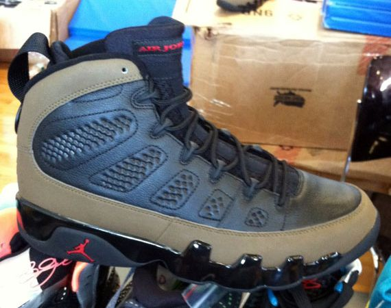 Air Jordan IX: Olive