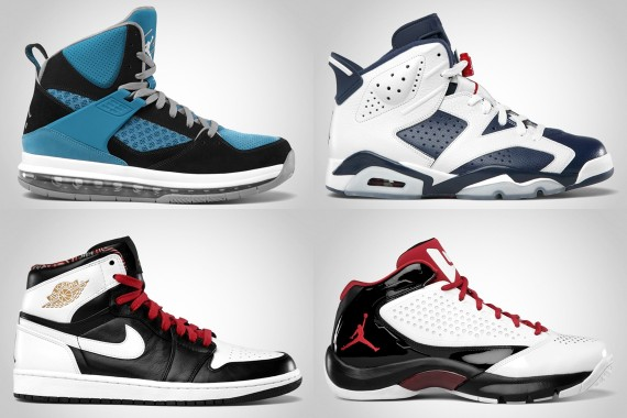 Jordan Brand July 2012 Footwear Update