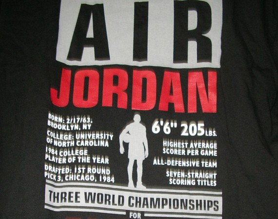 Vintage Gear: Air Jordan Legendary T Shirt