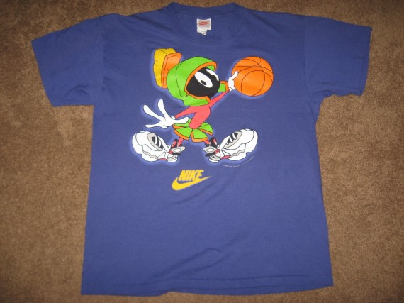 Vintage Gear: Air Jordan Marvin the Martian T Shirt