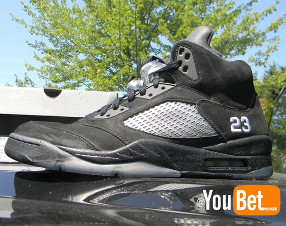 Air Jordan V: Black/White Sample | Available on eBay