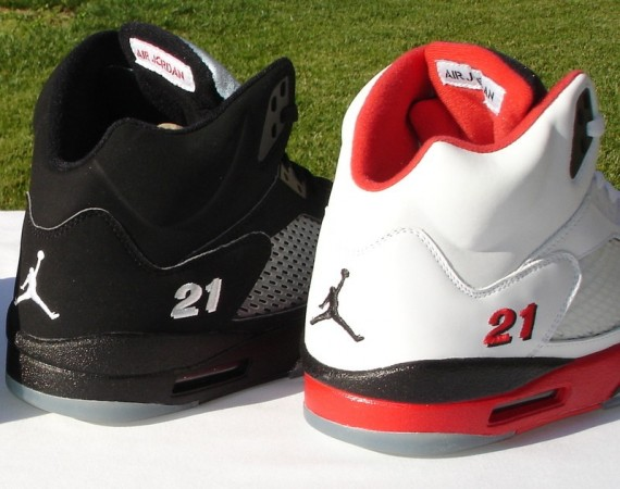 Air Jordan V: Bobby Simmons PE Set