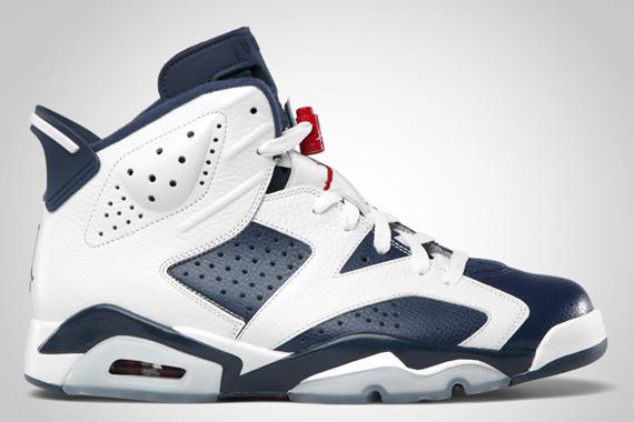 Air Jordan VI: Olympic   Official Images