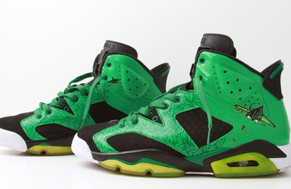 Air Jordan VI: Pilot Talk Customs by El Cappy