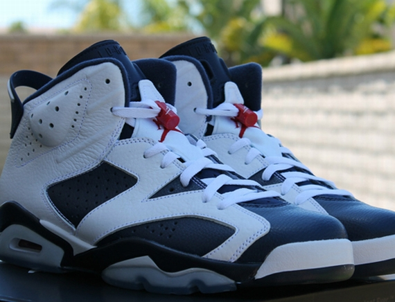 Air Jordan VI: Olympic   Release Reminder
