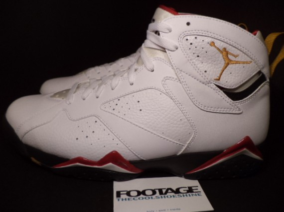The Daily Jordan: Air Jordan VII Cardinal   2006