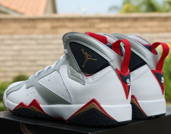 Air Jordan VII: Olympic   Release Reminder