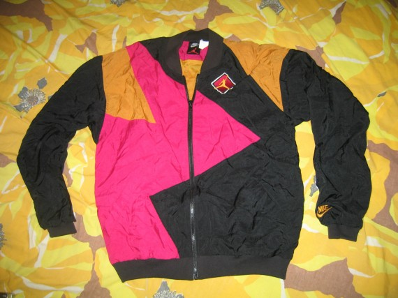 Vintage Gear: Air Jordan VII Windbreaker