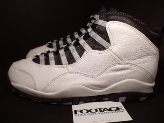 The Daily Jordan: Air Jordan X OG   White   Light Steel Grey   1994