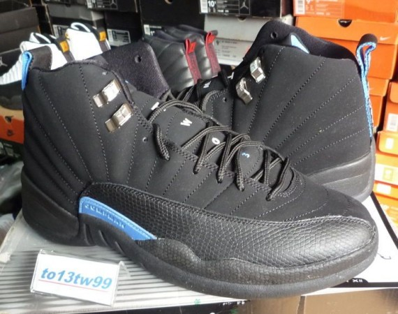 The Daily Jordan: Air Jordan XII   Black   University Blue   2003
