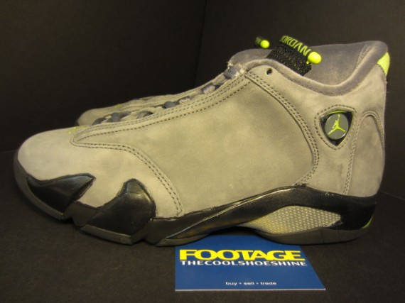 The Daily Jordan: Air Jordan XIV   Light Graphite   Black   2005