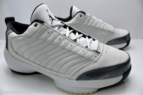 The Daily Jordan: Air Jordan XIX Low   Neutral Grey   Black   2004
