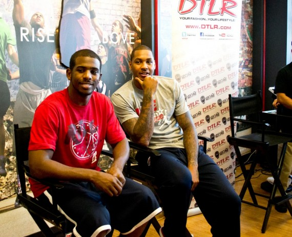 Carmelo Anthony and Chris Paul Talk Olympic Preparations