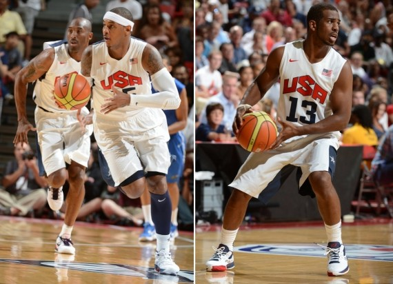 Olympic Jordans on Court: Team USA vs. Dominican Republic