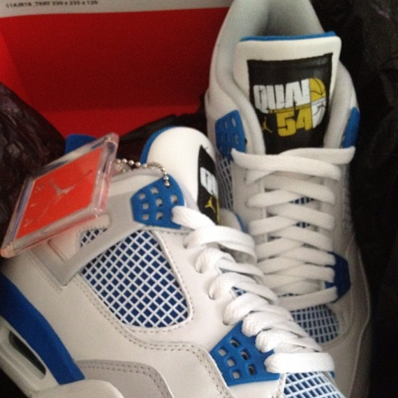 Fat Joe Shows Off Air Jordan IV Quai 54 Friends & Family