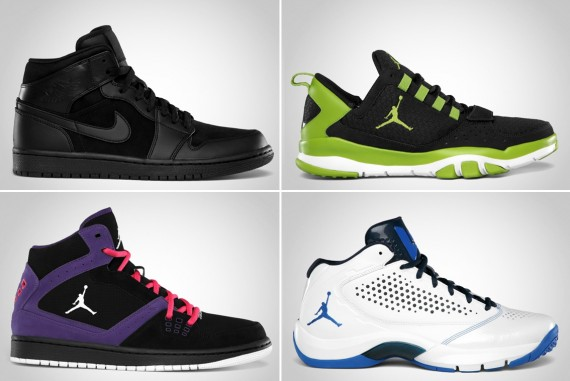 Jordan Brand August 2012 Footwear