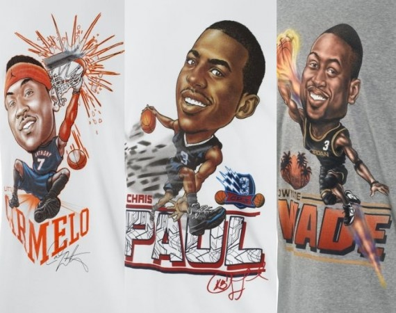 Jordan Brand Big Three Banner T Shirts