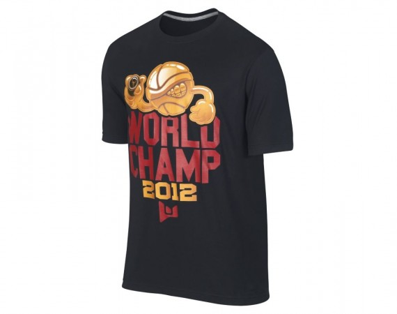 "Jordan Brand Dwyane Wade ""World Champ″ T Shirt   Available"