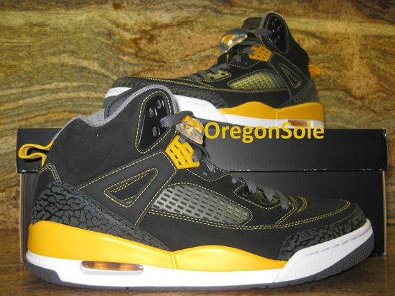 Jordan Spizike: Black   Yellow | Sample